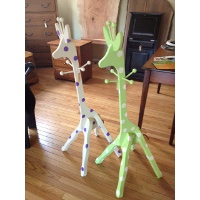 Giraffe Coat Rack