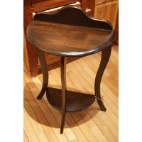 Half Round Occasional Table