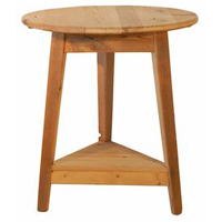 Round Shaker End Table