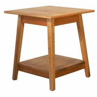 Square Shaker End Table